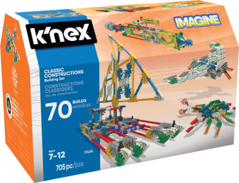 K'Nex Imagine Classic Constructions 70 Model Set