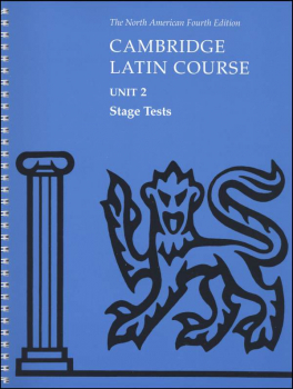 Cambridge Latin Course Unit 2 Stage Tests