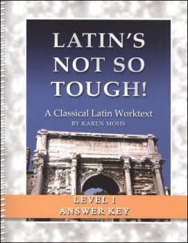 Latin's Not So Tough Level 1 Full-Text Answer Key