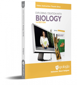 Exploring Creation with Biology Video Instruction Thumb Drive (3rd Edition)