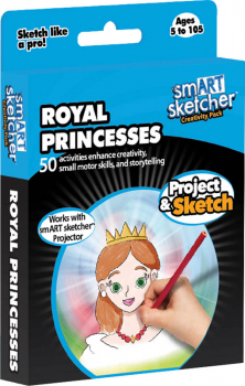 smART Sketcher Creativity Pack Royal Princesses