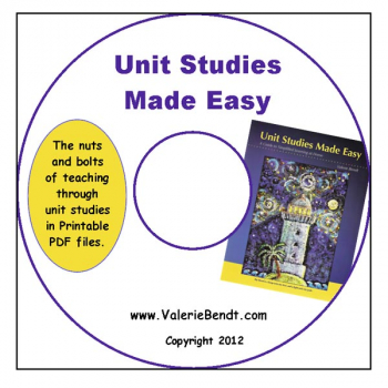 Unit Studies Made Easy CD, PDF Edition