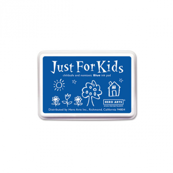 Blue Just for Kids Ink Pad