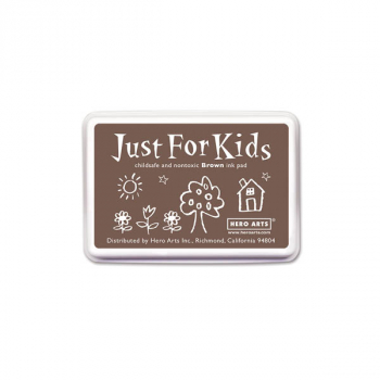Brown Just for Kids Ink Pad