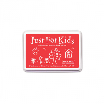 Red Just for Kids Ink Pad