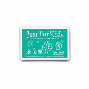 Turquoise Just for Kids Ink Pad