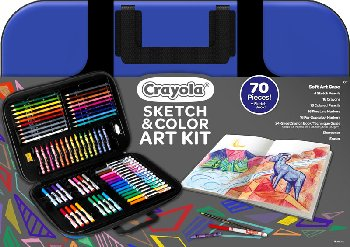 Crayola Sketch & Color Art Kit