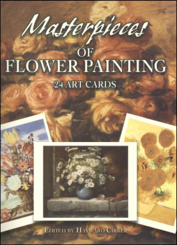 Masterpieces of Flower Painting (24 Art Postcards)