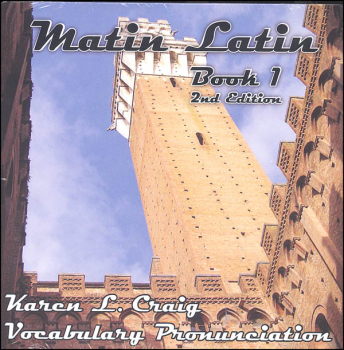Matin Latin Level 1 Pronunciation CD (2nd Edition)