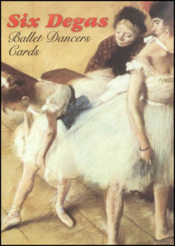 Degas Small Format Postcard Book