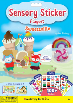 Sensory Sticker Playset - Sweetsville