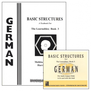 German Basic Structures 3 Complete Set with CDs