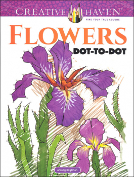 Flowers Dot-to-Dot (Creative Haven)