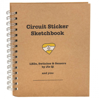 Circuit Sticker Sketchbook