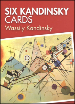 Kandinsky Small Format Art Postcard Book