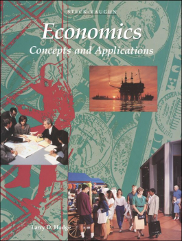 Economics: Concepts and Applications Student Text