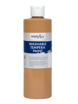 Peach Washable Tempera Paint