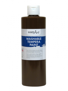 Brown Washable Tempera Paint