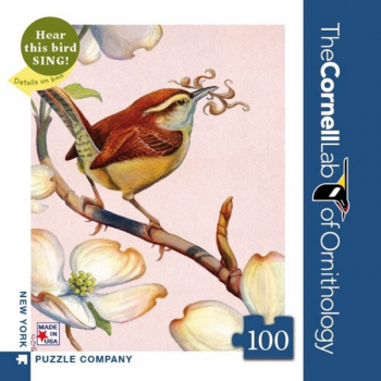 Carolina Wren - 100 piece Mini Puzzle (Cornell Birds)