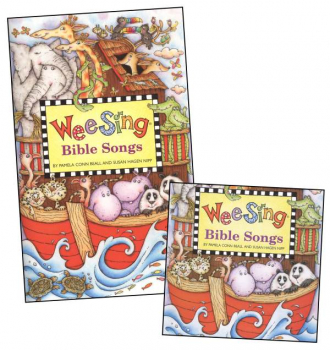 Wee Sing Bible Songs Book & CD