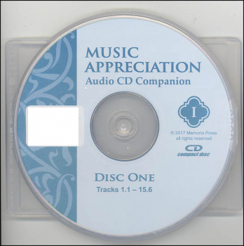 Music Appreciation Book I Audio Companion CD