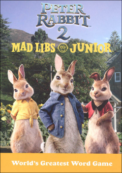 Peter Rabbit 2 Mad Libs Junior
