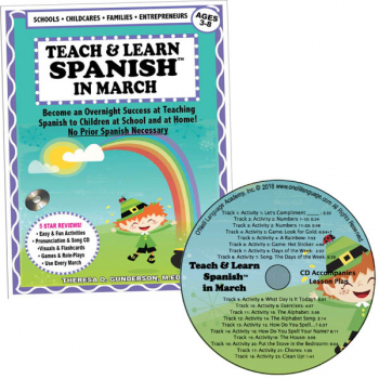 Teach & Learn Spanish in March (Book & CD)