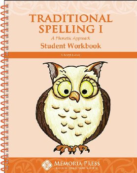 Traditional Spelling Student Book I