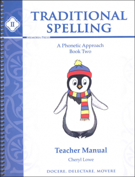 Traditional Spelling Teacher Guide II
