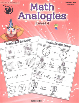 Math Analogies - Level 4