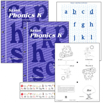 Saxon Phonics Program K Student Only