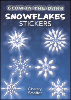 Glow-in-the-Dark Snowflakes Stickers
