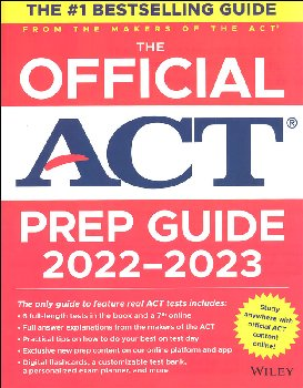 Official ACT Prep Guide 2020-2021
