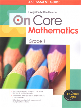 On Core Mathematics Student Assessment Guide Grade 1