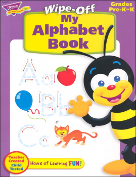 My Alphabet Wipe-Off Book