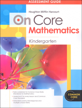 On Core Mathematics Student Assessment Guide Grade K