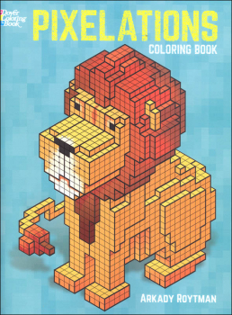Pixelations Coloring Book