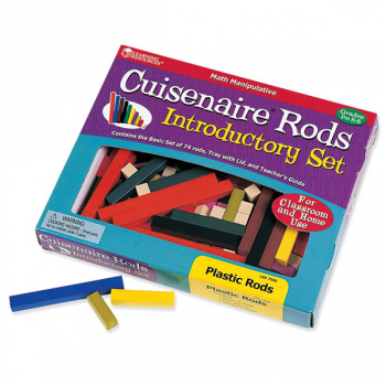 Cuisenaire Rods Introductory Set - 74 Plastic Rods