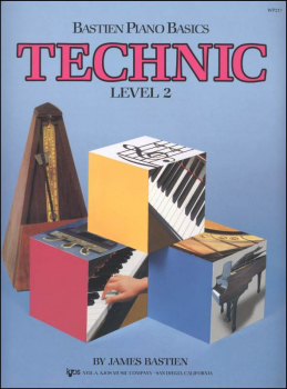 Bastien Piano Basics Technic Level 2