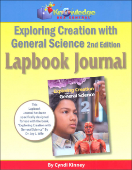 Apologia Exploring Creation with General Science 2nd Edition Lapbook Journal Printed