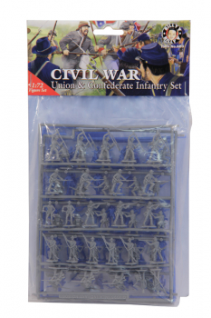Civil War Union & Confederate Infantry Set