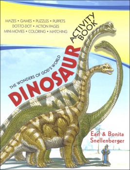 Wonders of God's World Dinosaur Activity Book