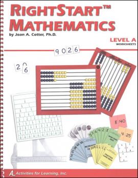 RightStart Mathematics Level A Worksheets (1st Edition)