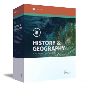 History 7 Lifepac Complete Boxed Set