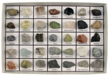 Rocks and Minerals of the U.S. Basic Collection (35 pcs.)