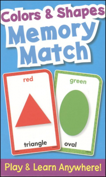 Colors & Shapes Memory Match