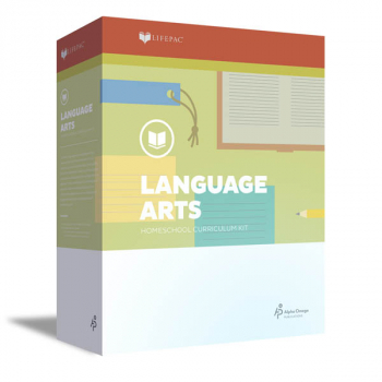 Language Arts Grade 5 LIFEPAC Complete Boxed Set