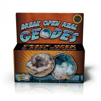 Break Open Real Geodes (2 Geodes)