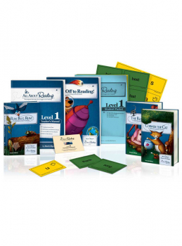 All About Reading Level 1 Materials 2nd Edition (black & white)