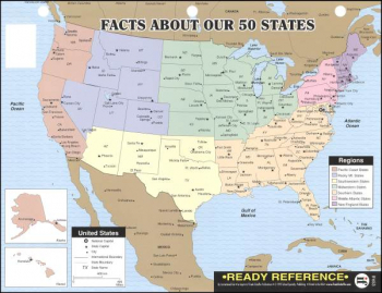 Facts About Our 50 States Ready Reference Chart